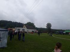 Okresní soutěž v klasické hasičské soutěži - Dobřany