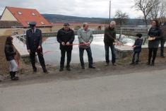 Slavnostní předání rybníčku Smederov