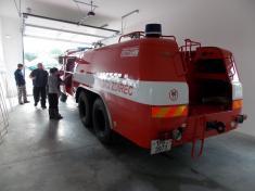 Předání hasičské zbrojnice ve Ždírci 2014