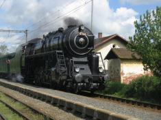 Parní lokomotiva 2013