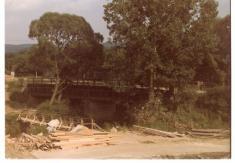 bývalý most naŽďár přesÚslavu r.1986