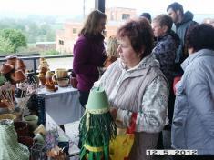 Prodejní výstava  na terase Ždírecké hospody 2012