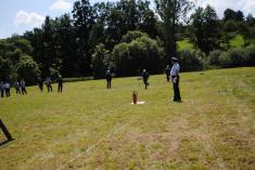 Hasičské cvičení 2012