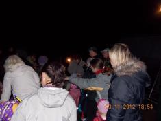 Lampiónový průvod 2012