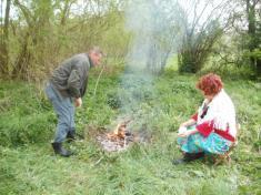 Slet čarodějnici Myť 2011