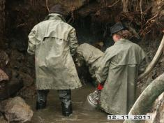 Výlov rybníku Huťský 2011