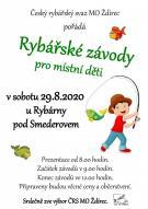 Rybářské závody pro děti 2020